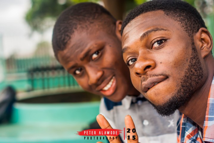 Peter Alawode Photography - Left is Peter Alawode himself and to the right is Sugar of Dulcis Photography